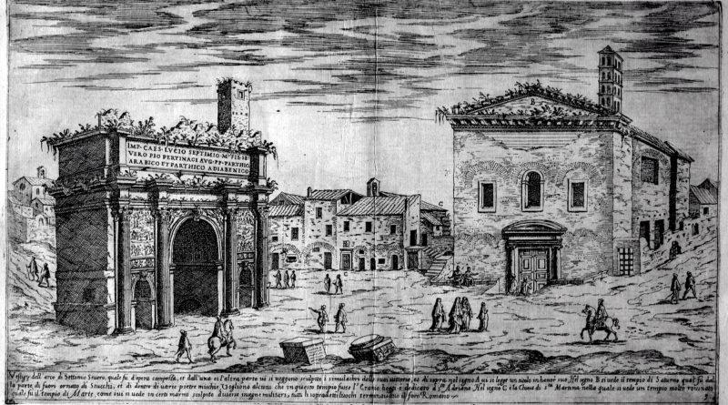 Étienne Dupérac – I vestigi delle antichità di Roma(1575)