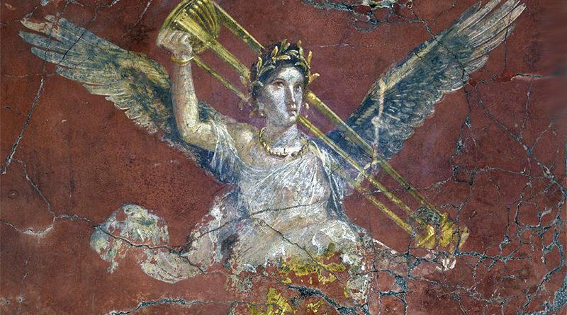 Affreschi della Villa Romana di Moregine