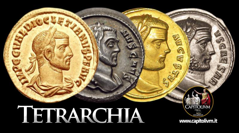 La Tetrarchia di Diocleziano