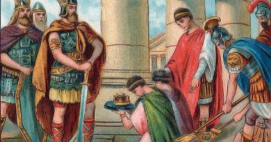 L'impero alla fine del V secolo