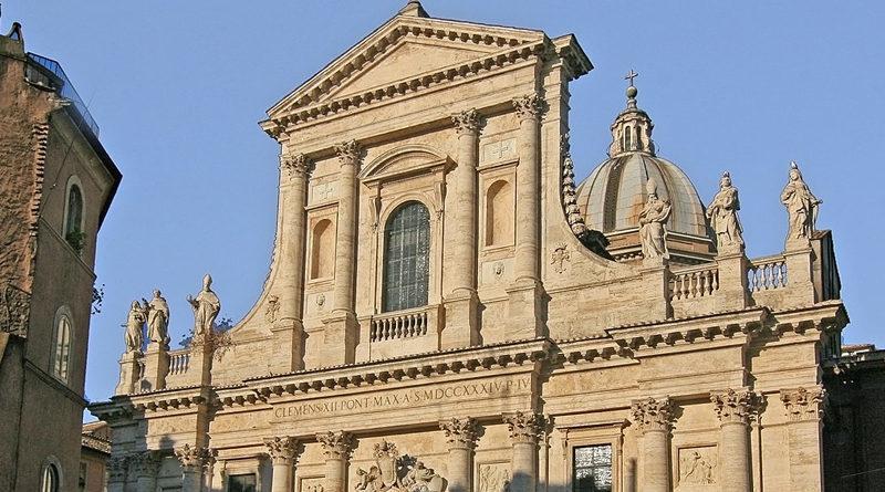 La Basilica di San Giovanni dei Fiorentini