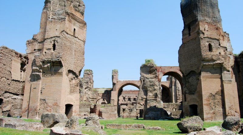 The Unusual Italy: le Terme di Caracalla