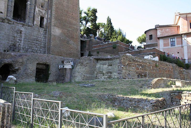 Il Tempio della Concordia nel Foro Romano